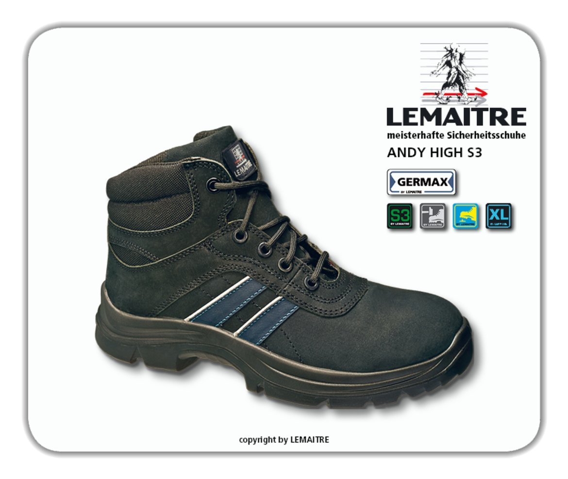 LEMAITRE Sicherheits-Stiefel ANDY HIGH S3