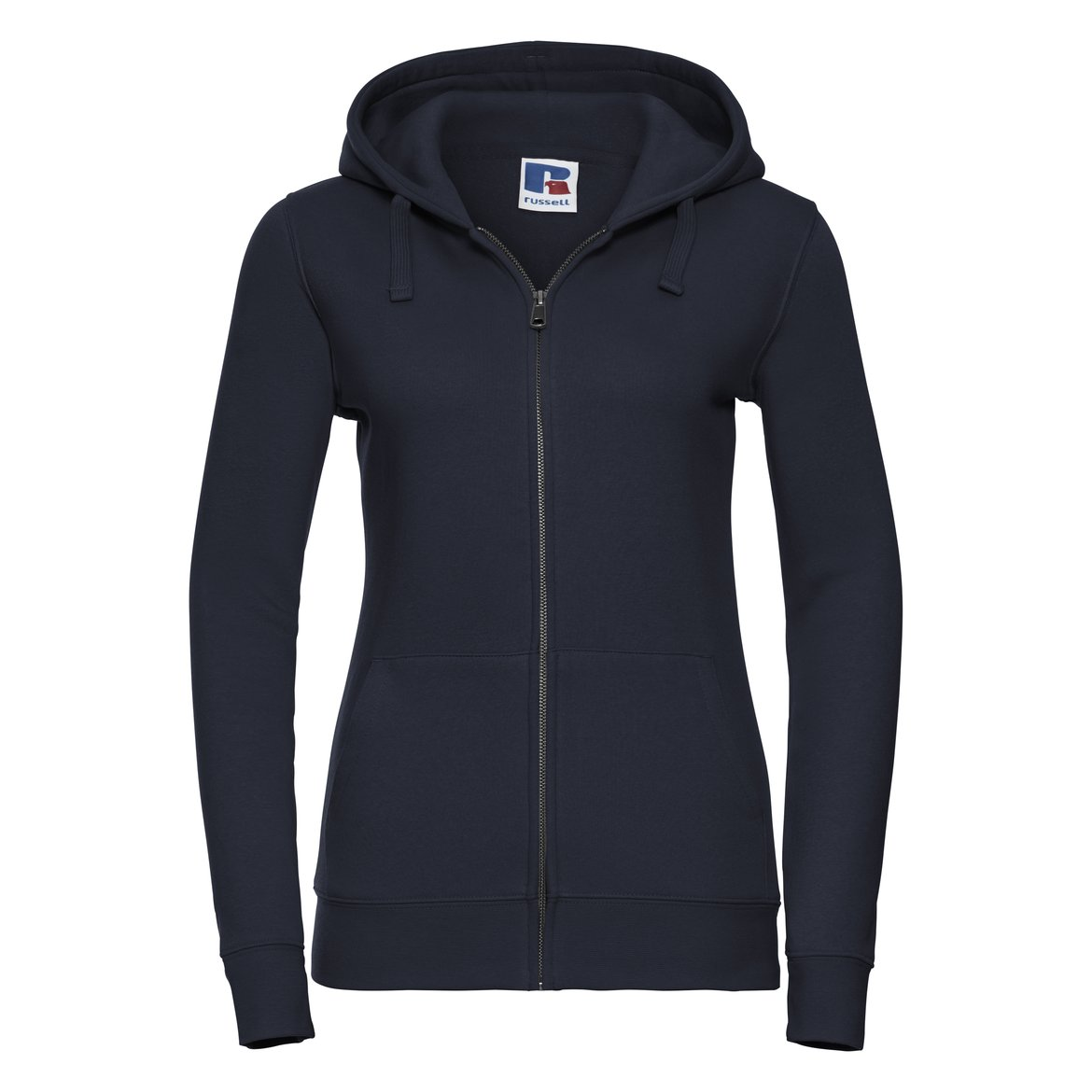 Damen Authentic Zipped Hood Sweatshirt R-266F-0